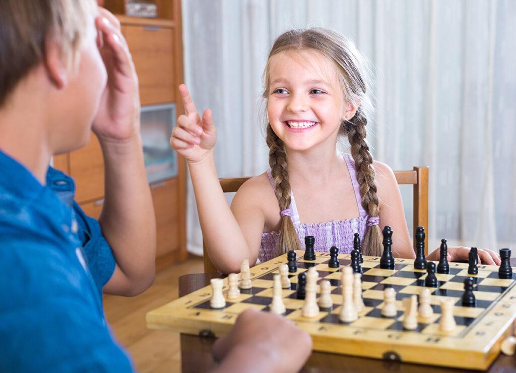 Beneficios del ajedrez en niños